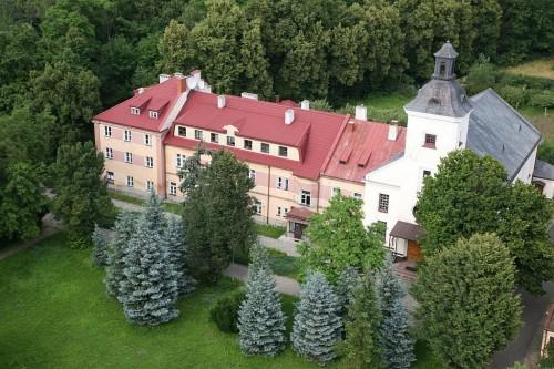 Klasztor z lotu ptaka